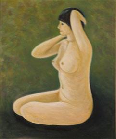 裸婦 油彩 8号