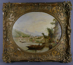 Hopkins H. Hobday Horsley 1807- 1890, City of Como, Oil on Canvas, , € 2800,00