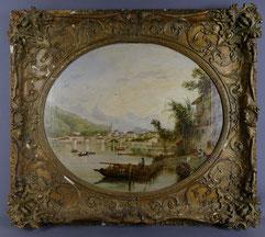 Hopkins H. Hobday Horsley 1807- 1890, City of Como, Oil on Canvas, , € 2800,00