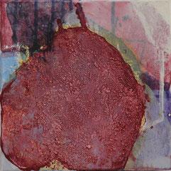 """""""o.T."""" 2009 acryl 20 x 20 cm"""