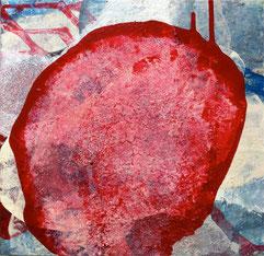"""""""o.T.""""    2009      acryl  30 x 30 cm"""