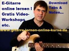 E-Gitarre online lernen