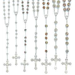 vendita rosari in argento