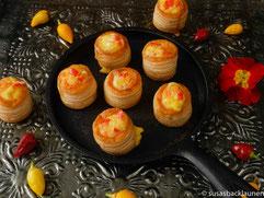 Mini-Blätterteig-Pasteten