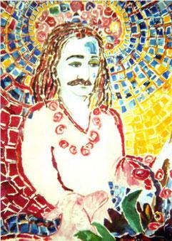 The Master ;  watercolour