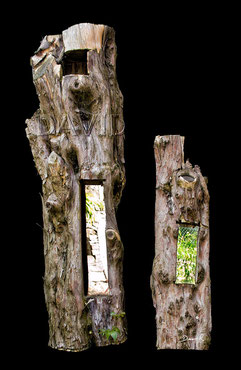 Totholz Totholzkunst Kunst Naturgarten wildlife garden dead wood deadwood  art object