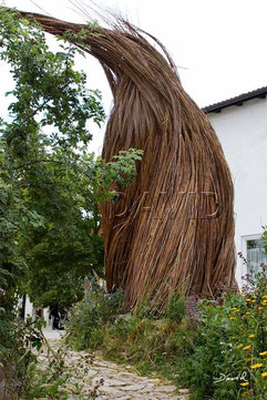 Totholz Totholzkunst Kunst Naturgarten wildlife garden dead wood deadwood  art object  Weiden willow withy withe