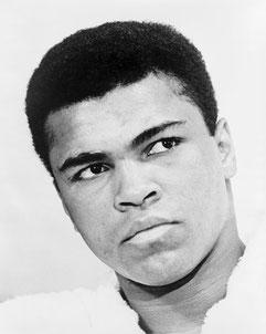 Portrait de Muhammad Ali en 1967 (25 ans) [Domaine public]