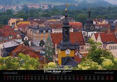 Die HEidecksburg in Rudolstadt.