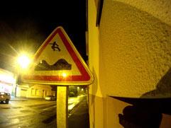 Détournement de panneau réalisé à Rezé
