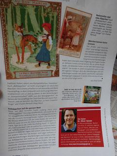 Eine Seite aus der Zeitschrift vom Rossmankundenmagazin