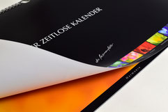 Farbmanufaktur broinger. Zeitlos-Kalender in Kunstdruck-Qualität