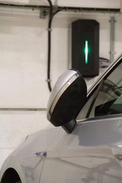 borne électrique de recharge