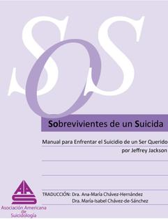 Asociación Americana de Suicidología. Sobrevivientes de un suicida.