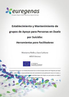 Euregenas. Grupos de apoyo para personas en duelo por suicidio.