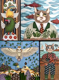 tableaux d'animaux - Nantes - artiste peintre - contemporain