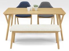 ダイニング 食卓セット 椅子 チェア カラフル コロン カジュアル 北欧 インテリア 東京デザインセンター 栃木県家具