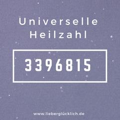 Universelle Heilzahl Heilzahlen Zahlenreihe nach Grigori Grabovoi