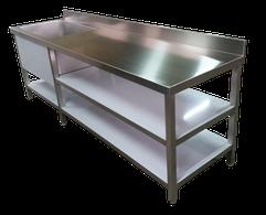 Muebles de acero inoxidable a medida al mejor precio - Aceros Rago