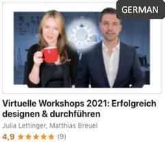 Virtuelle Workshops - erfolgreich planen