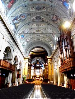 Il Santuario di Caravaggio -Interno 1