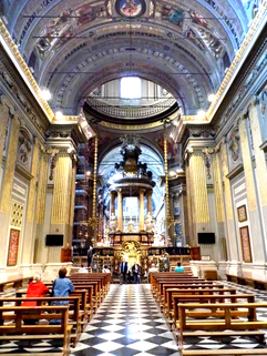 Il Santuario di Caravaggio - Interno 2