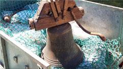 La cloche Simone-Marcelle de la chapelle de Kergröes
