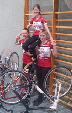 Stefanie Tausch, Sabina Weltin und Sabine Tausch (von links nach rechts)