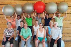 Gruppenfoto Gesundheit 60 Plus