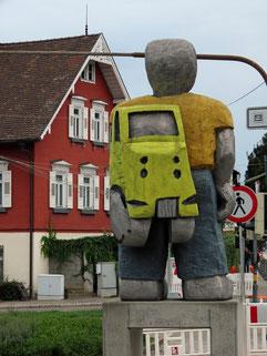 Taxifahrer am Bahnhof Bietigheim Bissingen