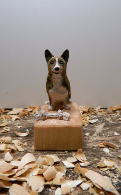Hunde Portrait Figur