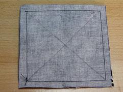 Quadrate in der Diagonale markieren