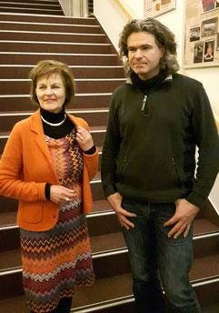 Bärbel van Weert-Frerick mit Dr. Detlef Stein