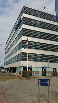 Amsterdam-based HQ of KLM-Martinair Cargo  -  photos: hs