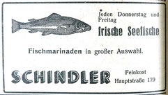 29.9.1951 Gemeindeanzeiger Feinkost Schindler