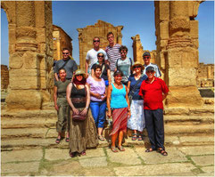 Reisegruppe Tunesien Juni 2013
