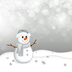 Winter, Schneemann