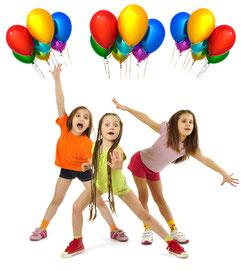 Kindergeburtstag feiern in Berlin - Tanz und Theaterworkshop