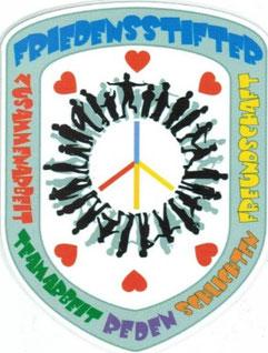 selbstentwickeltes Logo der Friedensstifter
