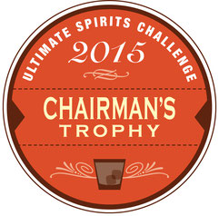 Ultimate Spirits Challenge 2015 Chairman's Trophy for Armorik Single Malt French Whisky Sherry Finish