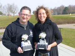 Die Frostbeulen-Champs 2015: Rastislav Dominik (l.) und Manuela John (r.)