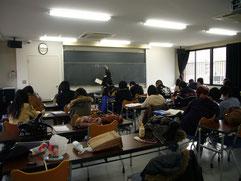 講義風景ここをクリックすると松江調理製菓製パンカレッジにリンクします