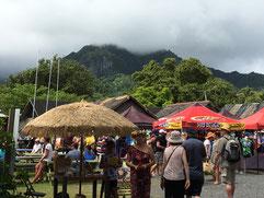 Punanga Nui Market, Rarotonga market, market Avarua