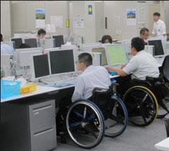 障害者が働く