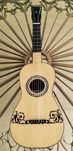 Gitarre um 1800 (José Pagés, Cadiz) von Kai Schupp/Barbara Ferloni, 2004