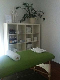 Hiromi Bodycare Massage Adliswil Praxisraum Behandlungszimmer