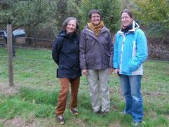 v.l.n.r. Margrit Haller-Reif, Frauke Kess, Kirsten Lehnig