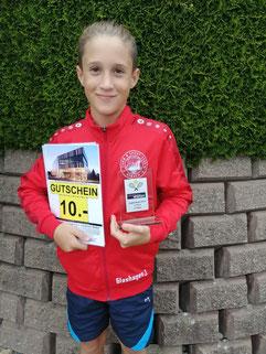 Jann Glashagen, 3.Platz