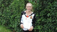 Qualinorm U16 für Sarina Lautner
