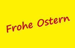 Peer Wagener wünscht FROHE OSTERN